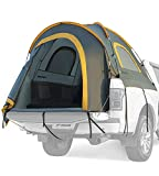 JoyTutus Pickup Truck Tent, Waterproof PU2000mm Double Layer for 2 Person, Portable Truck Bed Tent, 5.5'-6' Camping Preferred