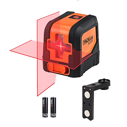 Tacklife SC-L01-50 Feet Laser Level Self-Leveling...