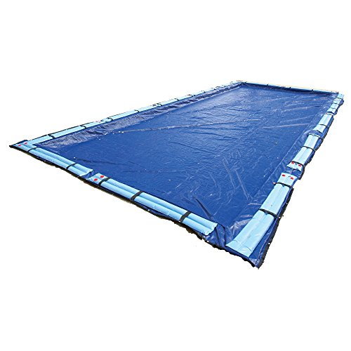 Blue Wave BWC964 Gold 15-Year 25-ft x 45-ft Rectangular In Ground Pool Winter Cover,Royal Blue