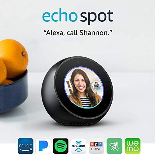 Product Image 21: Echo Spot - Smart Alarm Clock with Alexa - Black