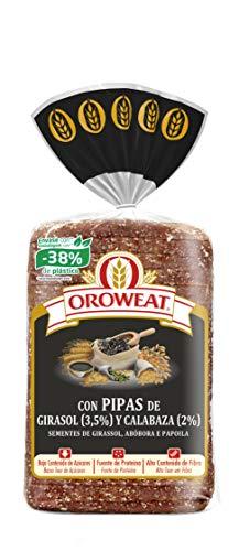 Oroweat - Pan de Grano Completo con Pipas de Calabaza y Semi
