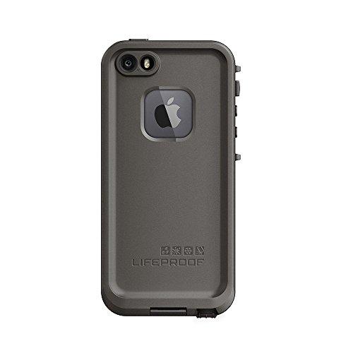 NEW LifeProof FRE SERIES Waterproof Case for iPhone 5/5s/SE ONLY - Retail Packaging - GRIND (DARK GREY/SLATE GREY/SKYFLY BLUE) (Renewed)