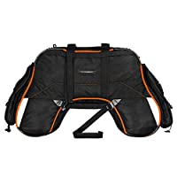 62 litres capacity (suitable for 7-10 days travel) with included raincover made from fabric rated for 5000mm water pressure 2 large side pockets to carry fuel, tools etc (can fit a 5L jerry can) Multiple zippered pockets to neatly store & organize yo...