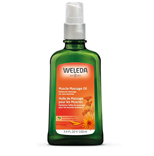 Weleda Muscle Massage Oil, Arnica, 3.4 Fl Oz (Pack of 1) Packaging may vary