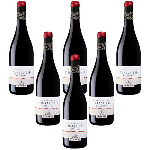 St. Magdalener Klassisch Santa Maddalena Classico Vino Rosso Alto Adige Doc Kellerei St.Pauls (6 bottiglie 75 cl.)