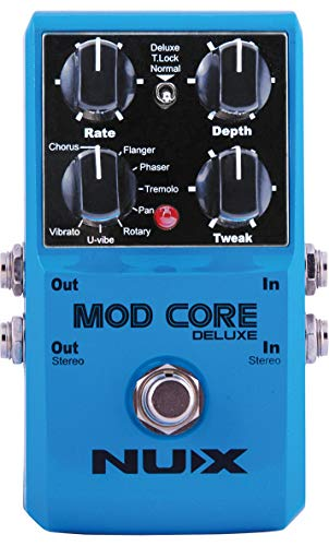 NUX | Mod Core Deluxe Modulation Effects Pedal | Guitar FX