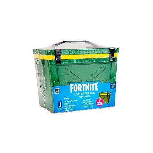 Fortnite JAZWARES – FNT0088 Loot Battle Box für 10cm Actionfiguren (Stile variieren)