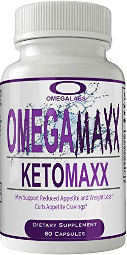 Omegamaxx Keto Pills 800mg Advanced Ketones BHB Omega Maxx Ketogenic Supplement for Weight Loss Pills 60 Capsules 800 MG GO BHB Salts to Help Your Body Enter Ketosis More Quickly 1