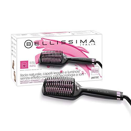 Imetec Bellissima Magic Straight Brush PB5 100 Spazzola Elettrica Lisciante per Capelli, Effetto...