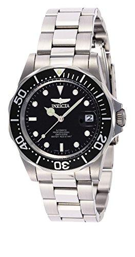 Invicta 8926 Pro Diver Unisex Uhr Edelstahl Automatik schwarzen Zifferblat
