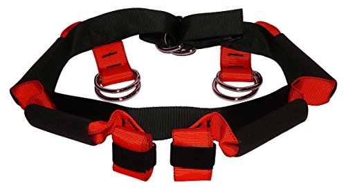 Lift Assist Harness - Fall Prevention Gait belt to safely lift and maneuver heavy, elderly, or injured patients - Reduce risk of back injury for providers - (Large)
