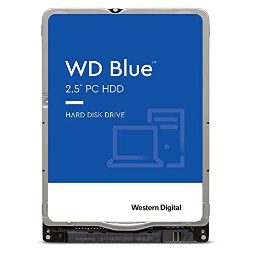 Western Digital WD10SPZX - Disco Duro Interno HDD (1TB, 5400, SATA, 128 MB) Color Azul
