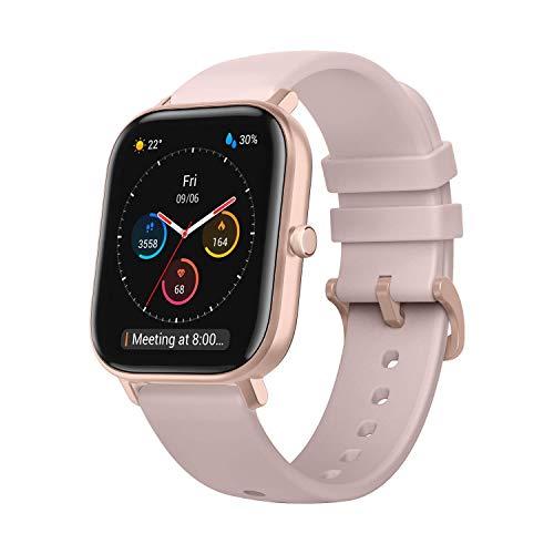 Amazfit GTS Reloj Smartwactch Deportivo   14 días Batería   GPS+Glonass   Sensor Seguimiento Biológico BioTracker™ PPG   Frecuencia Cardíaca   Natación   Bluetooth 5.0 (iOS & Android) Pink - Rosa