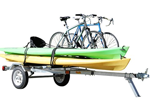 2. Ruff-Sport Trailer - Galvanized Finish for Kayak