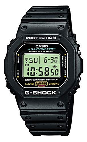 Casio G-Shock Herren Harz Uhrenarmband DW-5600E-1VER