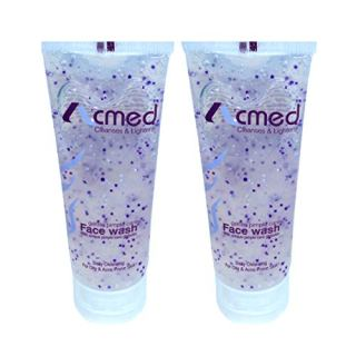 Acmed Pimple Care for Acne Prone Skin (Pack of 2) Face Wash(140 ml)-Buy Only From Seller E Mega Mart India