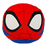 Marvel Spider-Man, 'Spider-Man' 3D Ultra Stretch Cloud Pillow, 11' Round, Multi Color