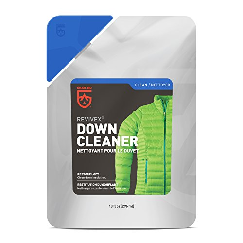Gear Aid Revivex Down Cleaner for Jackets and Sleeping Bags,...