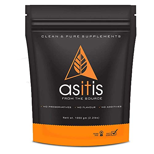 AS-IT-IS Nutrition Whey Protein Concentrate 80% Unflavoured, Labdoor Certified (1kg)