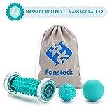 Rouleau de massage, masseur Fansteck pour pieds et mains, pour soulager la douleur causée par la...