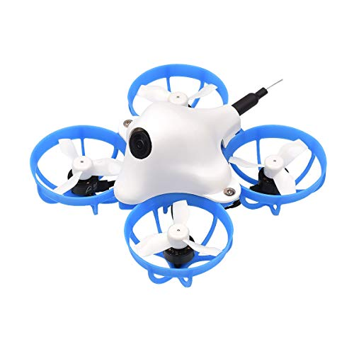 BETAFPV Meteor65 HD 1S Brushless Whoop Drone Frsky LBT with F4 AIO 1S FC VTX Nano HD Camera 22000KV 0802SE Motors for FPV Racing Whoop Drone Quadcopter