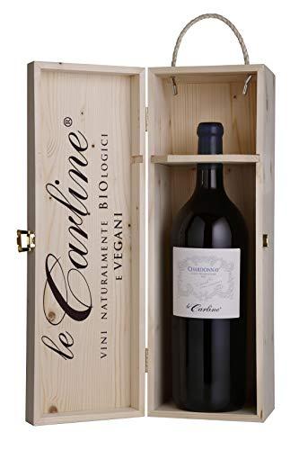 Magnum di Chardonnay DOC Lison Pramaggiore Cantastorie BIO vegan Le Carline in cofanetto di legno