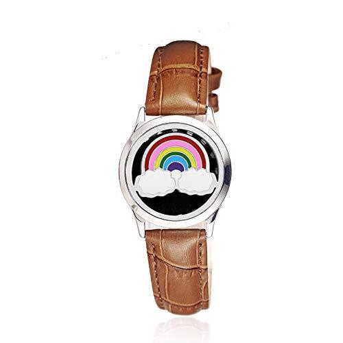 Duftöldiffusoren Edelstahl Aromatherapie Armband Europäische Und Amerikanische Tier Epoxy Hohl Aromatherapie Ätherisches Öl Lederband Armband Armband-D5