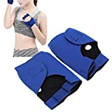 Meiyya Workout Gloves, Workout Fitness Gloves Sports Ventilated for Gym for Workout for Palm Protector for Exercise(blue)