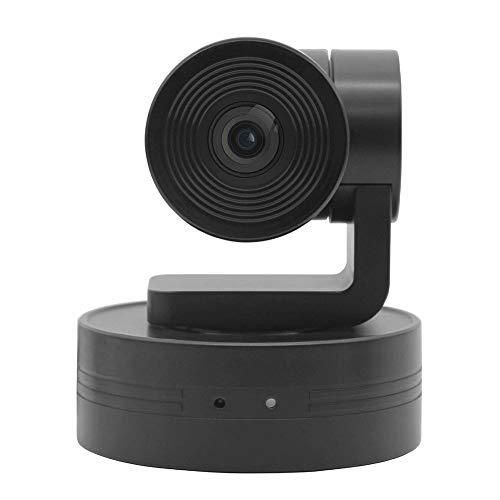 X-xyA Telecamera per Videoconferenza USB, Webcam 1080P 10X Zoom Telecomando HD Webcam, Plug-And-Play, Il Protocollo di Sostegno UVC