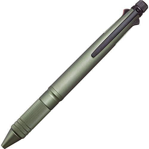 三菱鉛筆 多機能ペン ジェットストリーム 4&1 メタル 0.5 ダークグリーン MSXE5200A5.7