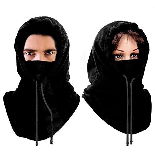 Passamontagna, Mture Passamontagna Maschera Tessuto Sottile e Traspirante, Multifunzione Hood Maschera Antivento...