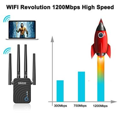 1200Mbps-WiFi-Repeater-Wireless-Signal-Booster-24-5GHz-Dual-Band-WiFi-Extender-with-Ethernet-Port-360-Degree-Full-Coverage