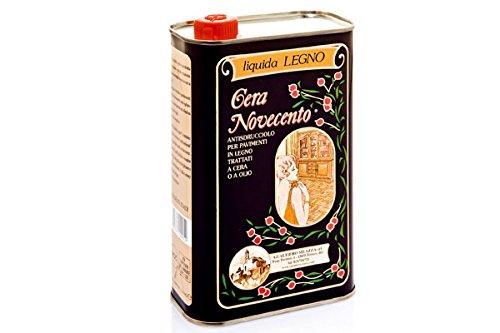 Cera Novecento X904 Cera Liquida Legno, Noce, 1 litro
