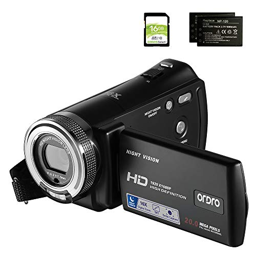 41mecRnDcYL - The 7 Best Budget Camcorders