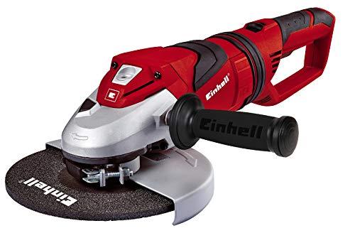 Einhell Meuleuse d'angle TE-AG 230 (2350 W,Diamètre des disques : 230 mm, SoftGrip, Livré avec poigné supplémentaire, clé à bride, sans disque)