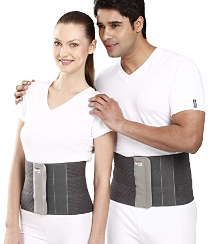 Tynor Tummy Trimer Belt (Waist Trimmer, slimming and abdominal belt for Men & Women-Medium)