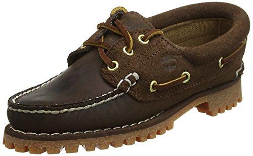 Timberland Damen Noreen 3 Eye Handstitched Bootsschuhe, Braun (Potting Soil Saddleback with Suede 931), 39 EU