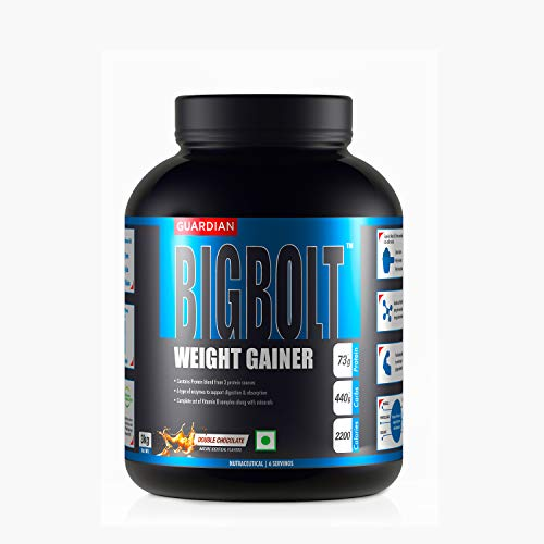 Guardian BigBolt Weight Gainer- 6.6 lbs, 3 kg (Double Chocolate)