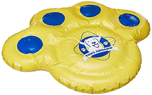 Paws Aboard Doggy Lazy Raft, Puncture Resistant...