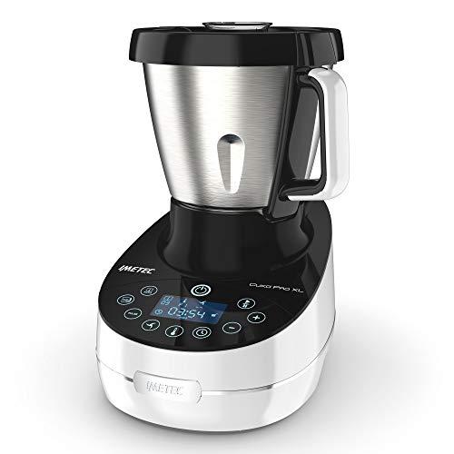 Imetec Cuk Pro XL CM3 2000 Robot da Cucina Multifunzione con Cottura, Cooking Machine 20 Programmi...