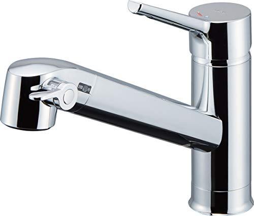 LIXIL(リクシル) INAX キッチン用 浄水器内蔵シングルレバー混合水栓 JF-AF442SYX(JW)