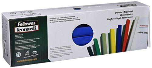 Fellowes D116BL Dorsini Rilegafogli Triangolari, Diametro 16 mm, Confezione da 25 Pezzi, Nero