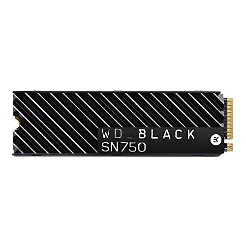 WESTERN DIGITAL WD Black SN750 SSD M.2 PCIe Gen 3x4 with NVME 1TB heatsink