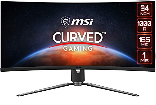 MSI MPG Artymis 343CQR 86,4 cm (34') 3440 x 1440 Pixeles UltraWide Quad HD LCD Negro