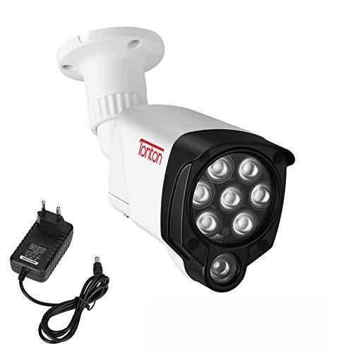 Tonton 8 IR LED, lámpara de iluminación infrarroja de 30 m de visión nocturna, para cámara de vigilancia, videovigilancia con fuente de alimentación 3M DC para interior y exterior impermeable
