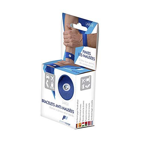 Pharmavoyage Bracelet Anti-Nausées Large - Bleu