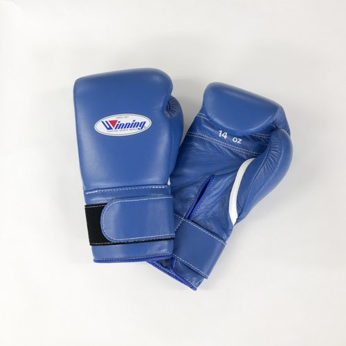 WINNING Training Boxing Gloves 16oz (Blue) MS600B