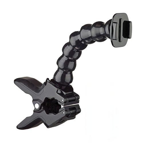 Jaws Flex Clamp Mount Fissaggio per la Videocamera colore: nero