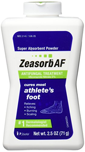 Zeasorb Antifungal Powder Treatment For Athletes Foot - 2.5 Oz (3 Pack)