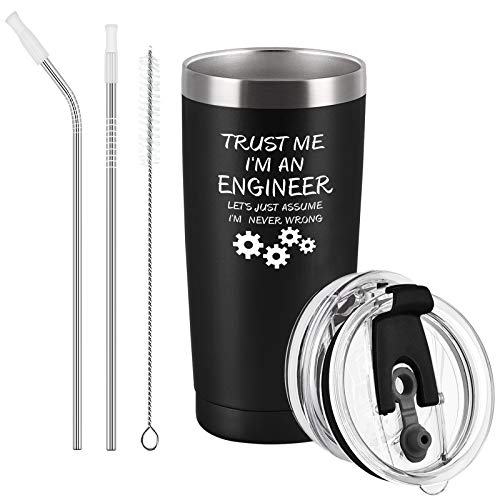 Cpskup Trust Me I'm an Engineer Funny Gift Stainless Steel...
